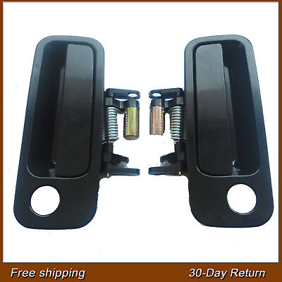 Fit Toyota Camry 97-01 Outside Exterior Front Left Right Black Side Door Handle