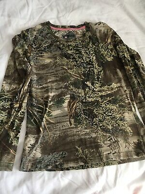 Russel Outdoors S Hunting Shirt Size 4-6 Advantage Max-1 Camping Fishing