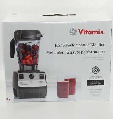 Vitamix High Performance 5300 Blender + 64 oz Low Profile Container, Recipe Book