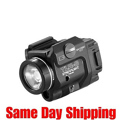 Streamlight TLR-8 Low Profile Tactical Light/Laser (Red) Railed Pistols - 69410