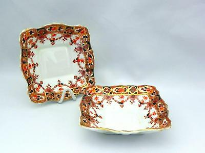 Early  Royal Stafford  IMARI  *BUTTER / PIN DISHES* - Good Condition