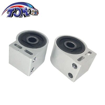 2PCS Front Lower Rearward Control Arm Bushing For Equinox Torrent Vue XL-7