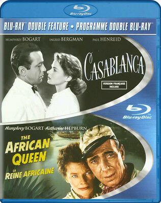 Casablanca / African Queen (Double Feature) (Blu-Ray) (Bilingual) (Blu-Ray)