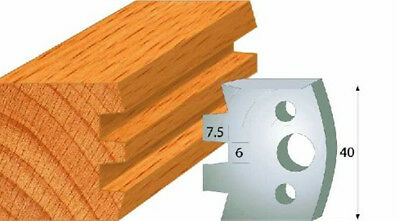 CMT 690.114 Profiled Knives for Shaper Cutters, 1-37/64-Inch Cutting Length 2Pcs