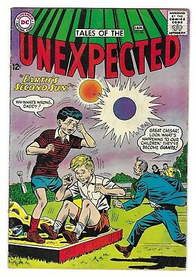 TALES OF THE UNEXPECTED no.86 SILVER AGE DC COMIC BOOK Sci-Fi Horror CIRCA 1964