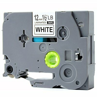 1pk TZ-231 TZe-231 Label Tape Black on White Compatible for Brother P-touch 12mm
