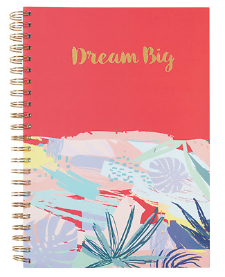 A4 5 Subject Spiral Notebook Charmies