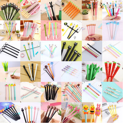 80 Style Gel Pen Ballpoint Stationery Writing Sign Child School Office Wholesale