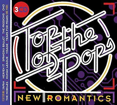 Various Artist Top Of The Pops: New Romantics  3 CD NEW sealed