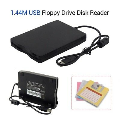 Floppy Disk Drive 1.44MB FDD USB Port External Plug&Play For Windows ME