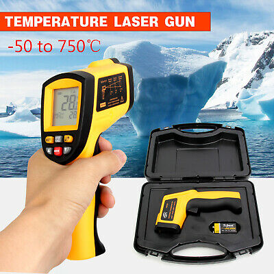 Digital Non-Contact Infrared IR Thermometer Temperature Laser Gun -50℃ to 750℃