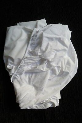 Baby clothes/bedding UNISEX BOY GIRL 3-6m+ cot-size fitted white sheet SEE SHOP