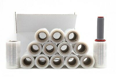 14 Rotoli + Dispenser Film Estensibile Manuale H 12,5 Cm Trasparente