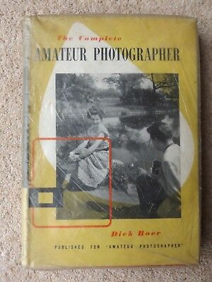 The Complete Amateur Photographer by Dick Boer Vintage Photography Book Camera