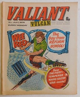 VALIANT and VULCAN Comic - 31st July 1976