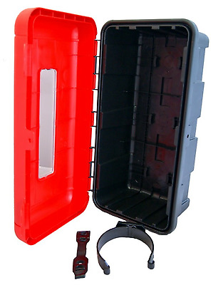 Fire Extinguisher Box Box Schutzkasten for 6Kg Devices Red Storage Box Truck