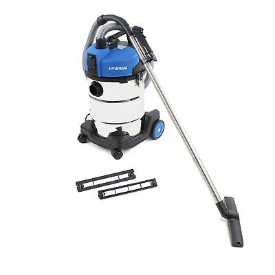 Hyundai Wet and Dry Electric Vacuum 30l Professional Cleaner 1200W HYVI32