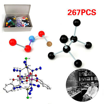 267pcs Molecular Model Set Links Kit General And Organic Chemistry Scientific AU
