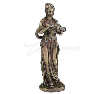 Hygieia - Greek Goddess Of Health And Sanitation Statue Sculpture Figurine