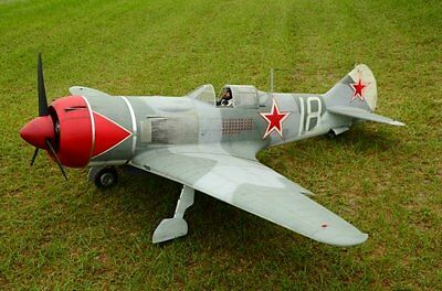 Lavochkin LA7 96  inch Wing Span  Giant RC Model AIrplane Printed Plans