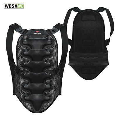 Motorcycle Street Sport Support Bike Protective Armor Back Spine Protector Guard