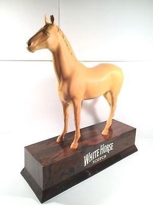 White Horse Scotch Whisky Bar Display Man Cave RARE Large Four Roses Whiskey USA