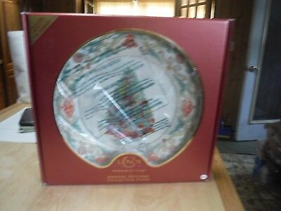 Lenox 2010 CHINA Trees Around The World Plate Annual Christmas