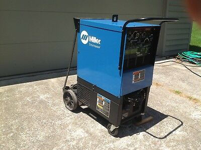 Miller Syncrawave 250 AC/DC Tig Welder---Very Low Hours