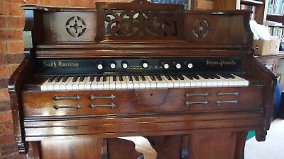 Antique American Pedal Organ