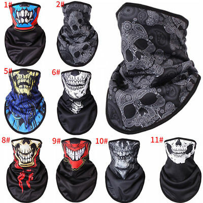 Warm Face Mask Shield Neck Tube Scarf  For Motorcycle Biker Ski Outdoors