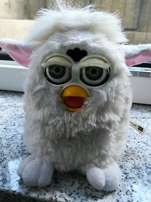 Original FURBY 1. Generation  weiß 1998 TIGER ELECTRONICS