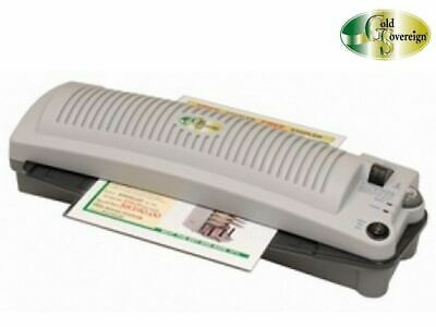 A3 Variable Temperature Pouch Laminator 2 Year Warranty Gold Sovereign MGSA3VT