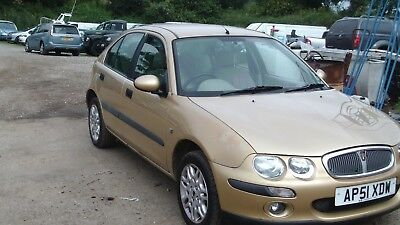 Rover 25 Il Stepspeed Automatic 1.6 Petrol As Traded In Mot 29/08/2018 50K 5Dr