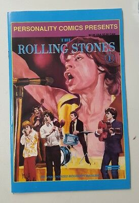 The Rolling Stones #1 (June 1992) - Personality Comics.