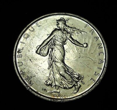 *** France 1962 5 Francs.  World - Foreign Silver Coin. Free Shipping!