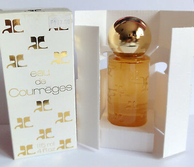 Flacon vintage EAU de COURREGES - EDT 115 ml PLEIN