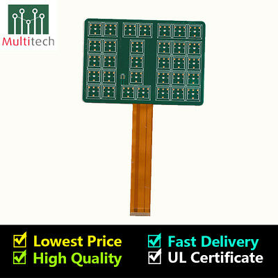 FR4 PROTOTYPE 2 Layers PCB Manufacture Etching Fabrication