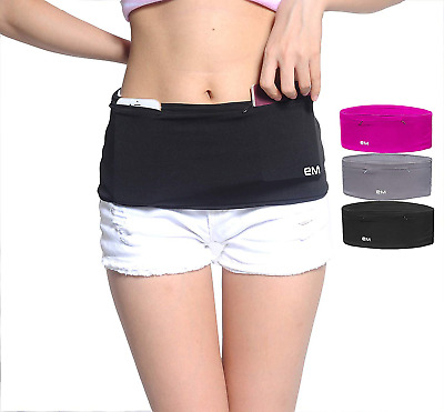 EAZYMATE Running Belt - Travel Money with Large Security Pocket Fits iPhone...