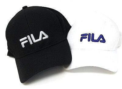 4901784eb16 FILA EMBROIDED LOGO Baseball Style Hats in Different Colors -  19.99 ...