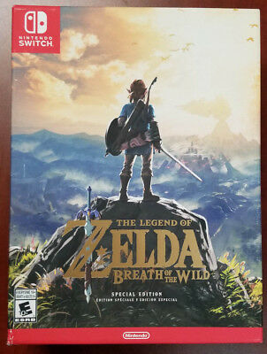 Nintendo Switch Legend of Zelda: Breath of the Wild SPECIAL Edition SEALED