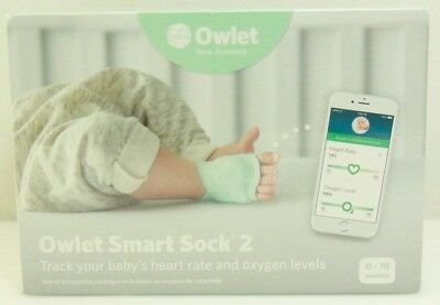 Owlet Smart Sock 2 Baby Monitor - Brand New Sealed - Free Shipping