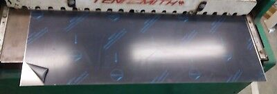 """1/8 aluminum sheet 5052 15-1/2"""" x 16"""" with PVC film one side"""