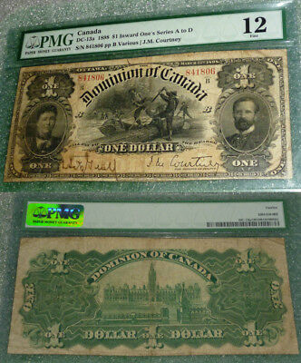 SCARCER ,INWARD ONES 1898  $1 DOMINION OF CANADA DC-13a