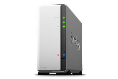 Synology DS115J8TBSEA DiskStation DS115J 8TB IronWolf Single Bay NAS Server
