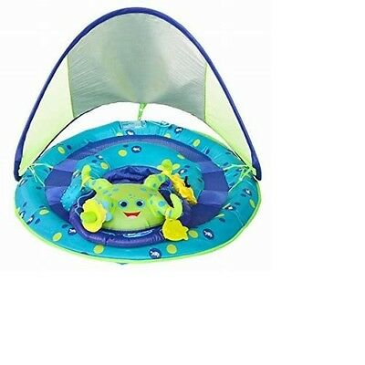 SwimWays Baby Spring Float Activity Center with Canopy, Octopus fun water beach