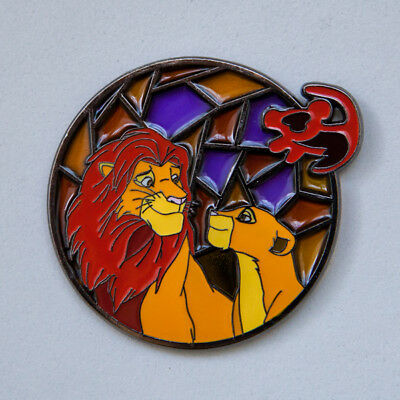 Unconditional Love Stainglass: Lion King Fantasy Disney pin