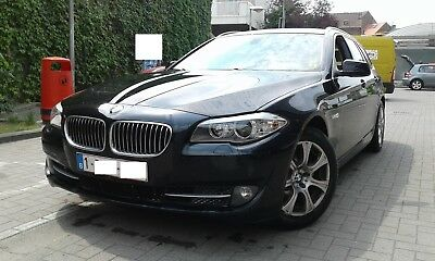 Bmw 520d black 2011 184hp CARPASS+ keuring