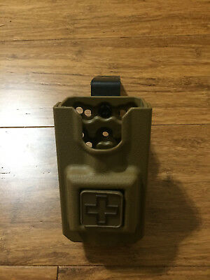 Eleven 10 rigid tourniquet holder case SOFFT and Wide MOLLE coyote brown