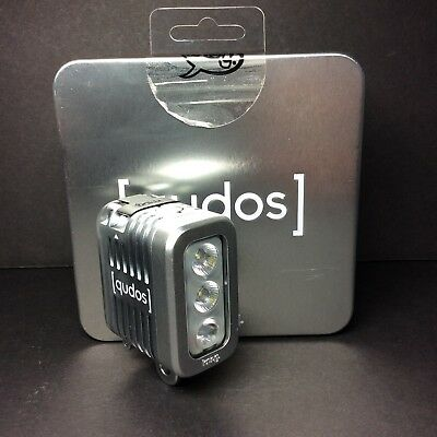 🔥Knog Qudos Action Video Light GoPro DSLR Cameras Waterproof Silver 11626🔥