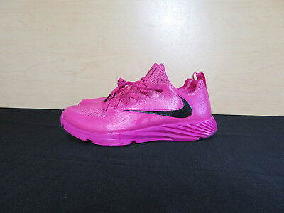 New Nike Vapor Speed Football Lax Turf Shoes Pink 884799-606 Men's Size 12.5